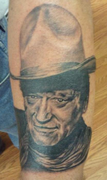 John Wayne by tat2brad